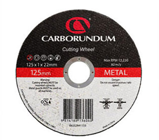 Carborundum Metal Cutting