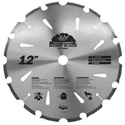 Malco Fibre Cement Saw Blade 12