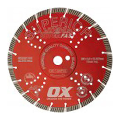 OX Segmented Turbo Diamond Blade