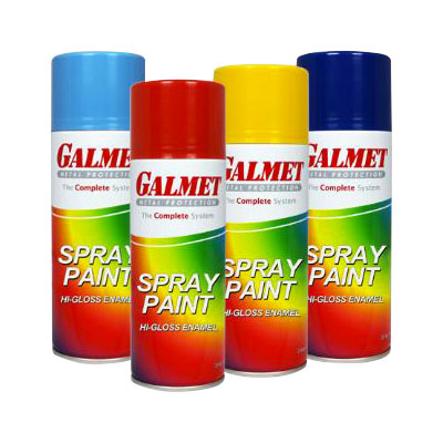 Galmet Spray Paint