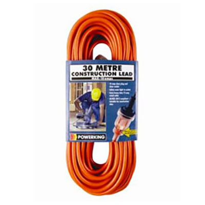 Powerking Extra Heavy Duty 30m Construction Lead