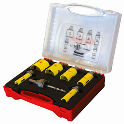 Starrett Rapid Change Electricians Holesaw Kit